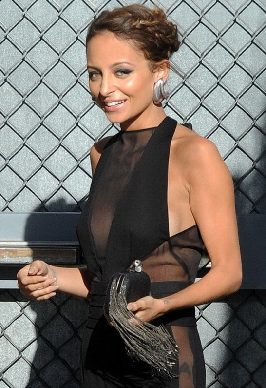 House Of Harlow Jude Snake Clutch with Gunmetal Fringe in Black Snake - as seen on Nicole Richie - by Handbags