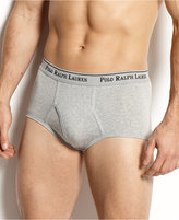 Polo Ralph Lauren Men's Underwear, Mid Rise Brief 4 Pack