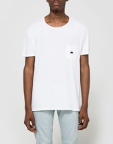 Quality Peoples Sun Logo Pocket T-Shirt