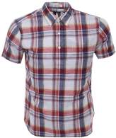 Ralph Lauren Short Sleeved Check Shirt Red
