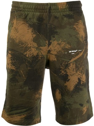 Off-White Bermuda Shorts