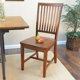 Hudson Carolina Cottage Chestnut Wood Dining Chair