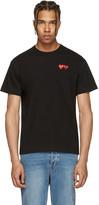 Comme des Garcons Black Double Heart T-shirt