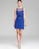 Aidan Mattox Beaded Blouson Dress - Sleeveless
