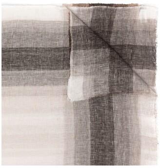 Lorena Antoniazzi Linen Check Scarf