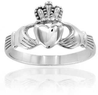West Coast Jewelry ELYA Stainless Steel Irish Claddagh Ring