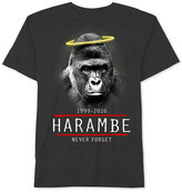 JEM Men's Harambe Gorilla Graphic-Print T-Shirt