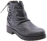 Fly London Women's Casual boots 004 - Black & Bronze Bust Ankle Boot - Women