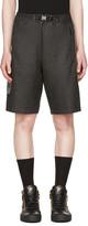 Diesel Black P-Ros Shorts