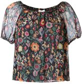 RED Valentino floral print blouse