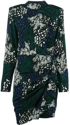 Veronica Beard All-Over Print Dress