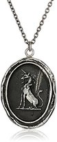 """Pyrrha talisman"""" Sterling Silver Power To Heal Necklace, 18''"""