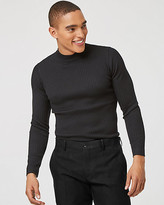 Le Château Rib Knit Turtleneck Sweater