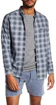 RVCA That'll Do Hombre Plaid Slim Fit Shirt
