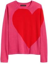 Banana Republic Big Heart Sweater