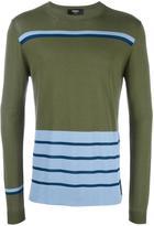 Fendi striped jumper - men - Cotton/Viscose - 46