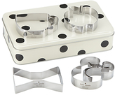 Kate Spade Cookie Cutters in Gift Tin
