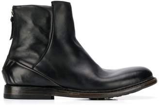 Silvano Sassetti rear fastening ankle boots