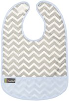 Kushies Waterproof Cleanbib 6-12M in Blue Chevron