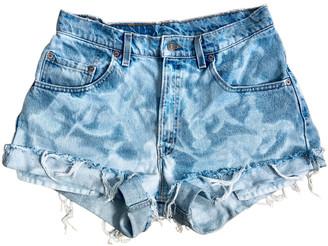 Levi's Vintage Clothing Blue Denim - Jeans Shorts