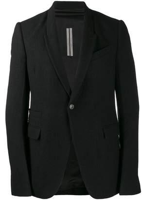 Rick Owens single-breasted blazer