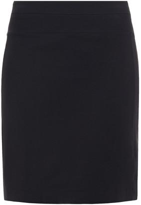 James Perse Cotton-blend Jersey Mini Skirt