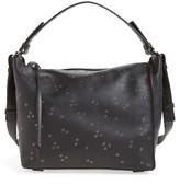 AllSaints Junai Studded Leather Crossbody Bag - Black