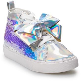 Jo-Jo JoJo Siwa Iridescent Sequin Girls' High Top Shoes