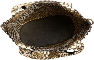 Mali & Lili Ray Convertible Woven Vegan Leather Tote