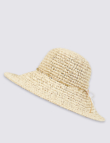 M&S Collection Beach Life Summer Hat