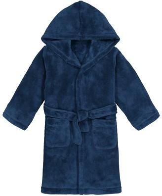 La Redoute Collections Soft Fleece Hooded Bathrobe, 3-14 Years