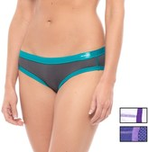 High Sierra High-Performance Bikini Briefs - 3-Pack (For Women)