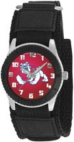 Game Time Rookie Series Fresno State Bulldogs Silver Tone Watch - COL-ROB-FRE
