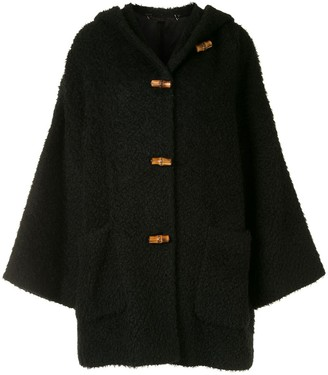 Gucci Pre Owned Hooded Duffle Coat