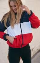 John Galt Colorblock Windbreaker Jacket