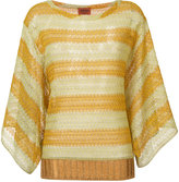 Missoni striped top - women - Polyester/Cupro/Rayon - 40