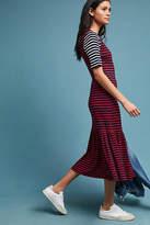 Cynthia Rowley Striped Midi Dress