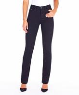 FDJ French Dressing Onyx Olivia Straight-Leg Jean - Plus Too