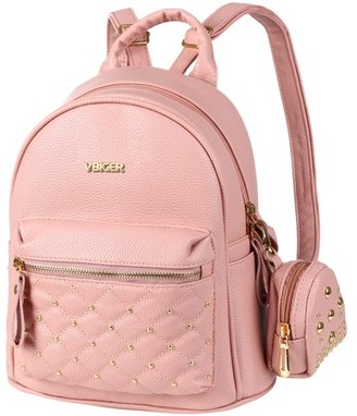 Generic Women Girl Backpack Rucksack Travel PU Leather Backpack Shoulder Bag Handbag School Bags,