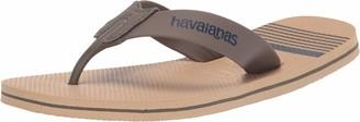 Havaianas Men's Urban Craft Flip Flop Sandal Black 8 M US