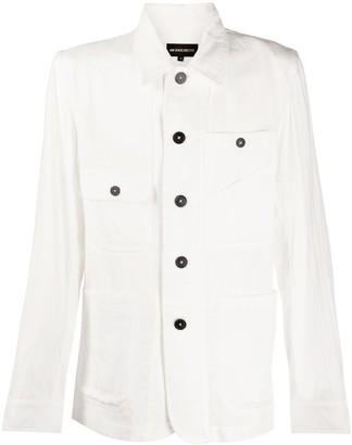 Ann Demeulemeester Multi-Pockets Shirt Jacket