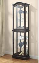 Charlton Home Loyer Curio Cabinet