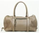 Chloé excellent (EX Taupe Leather Madeline Satchel Bag
