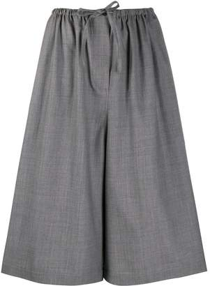 Loewe cropped wide leg trousers