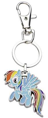 My Little Pony Hasbro Jewelry Girls Base Metal Rainbow Dash with Stainless Steel Key Chain