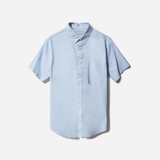 Everlane The Slim Fit Performance Air Oxford Short-Sleeve Shirt