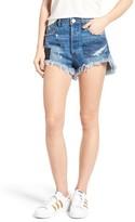 One Teaspoon Women's Le Wolves Denim Shorts