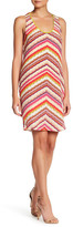Charlie Jade Print Silk Shift Dress