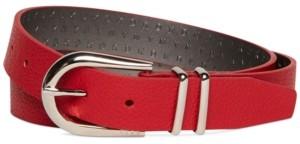 DKNY Double-Keeper Belt