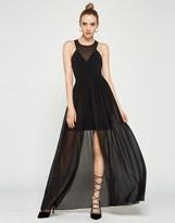 BCBGMAXAZRIA Bcbgeneration Contrast Maxi Dress